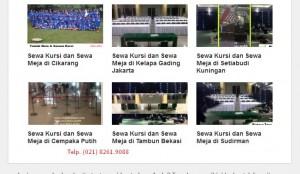 Produksi Taplak meja di Jakarta